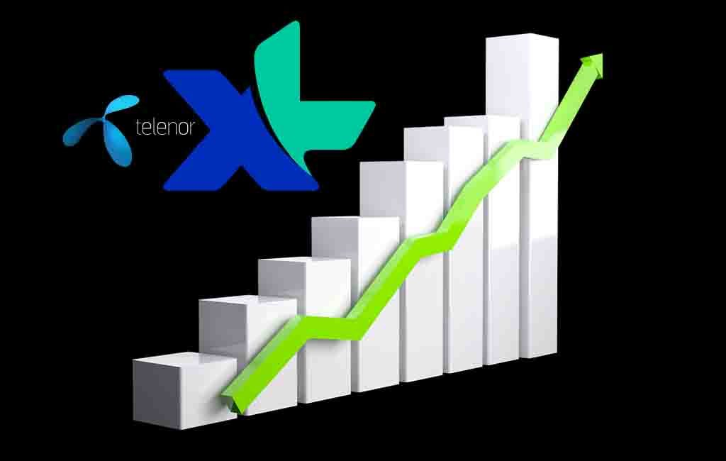 Rencana Merger Axiata Telenor Saham EXCL Diborong Investor