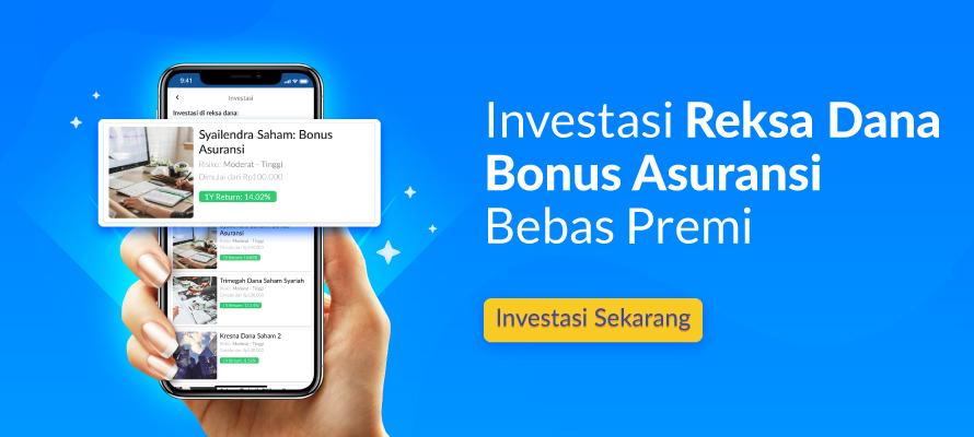 Investasi dengan asuransi bebas premi