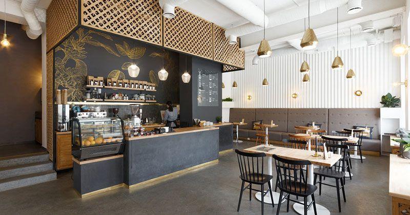 konsep modern coffee shop