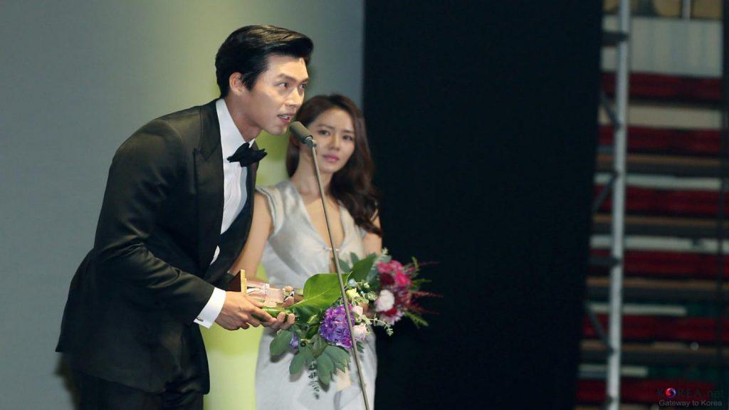 Ilustrasi aktor korea