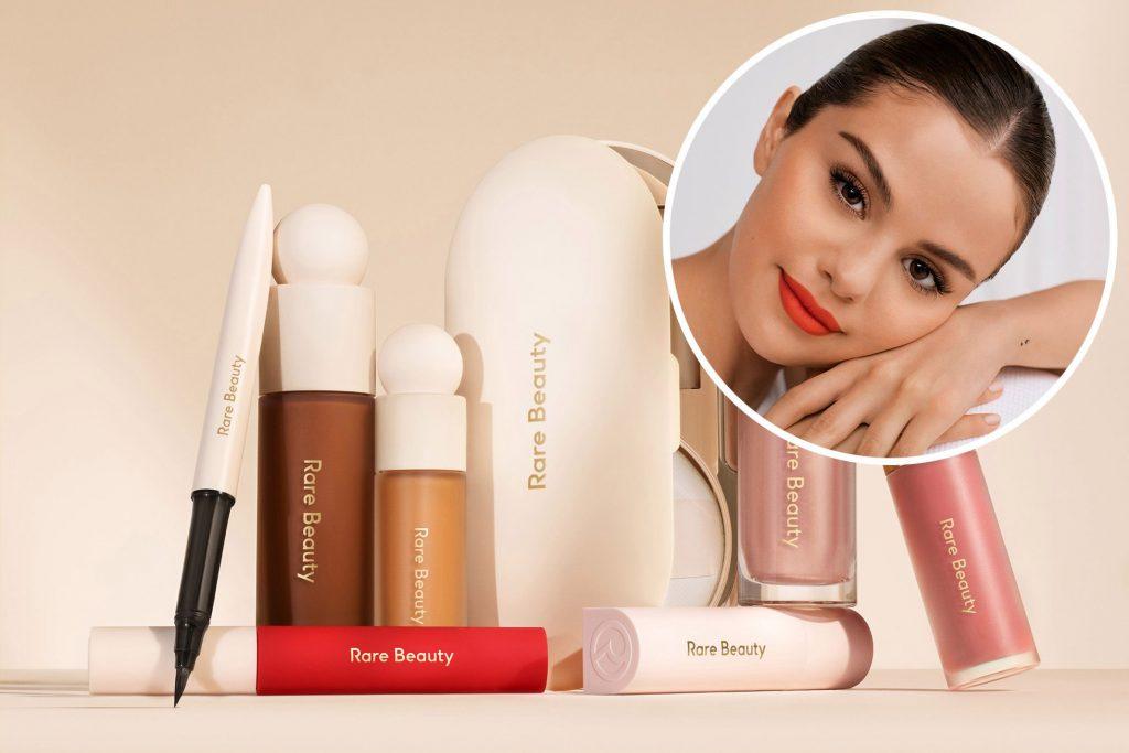 Selena Gomez meluncurkan Rare Beauty