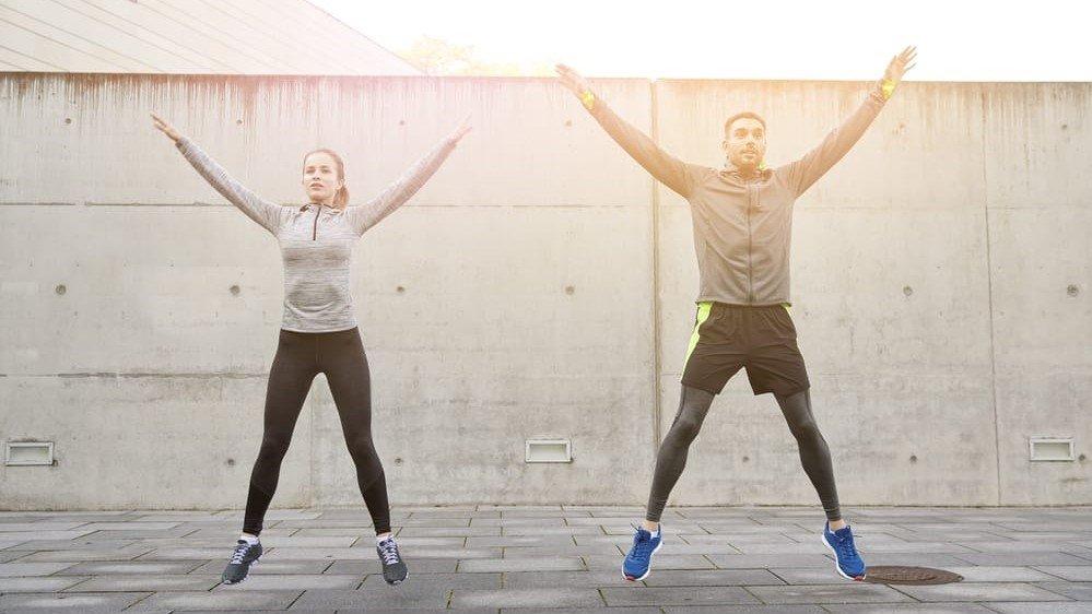 workout jumping jack