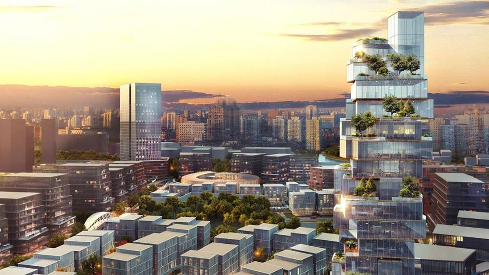 Ilustrasi BSD City.